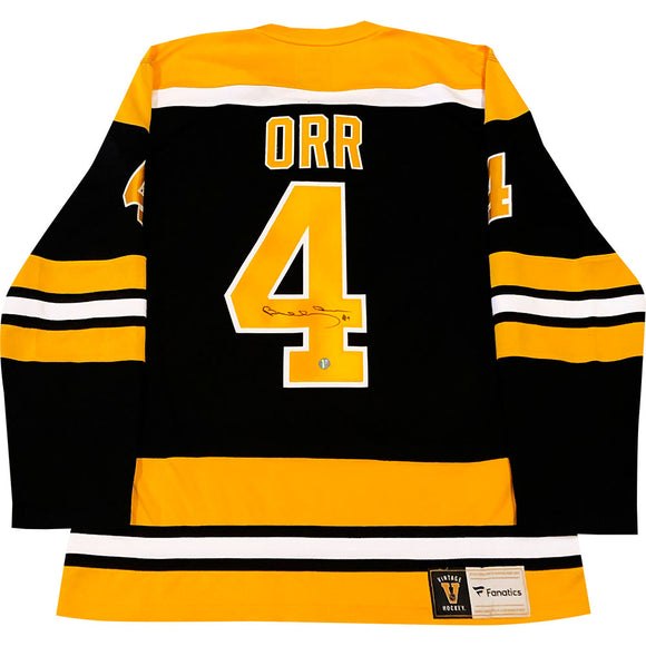 Bobby Orr Autographed Boston Bruins Replica Jersey