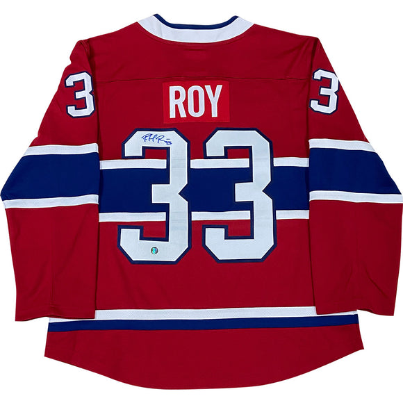 Patrick Roy Autographed Montreal Canadiens Replica Jersey