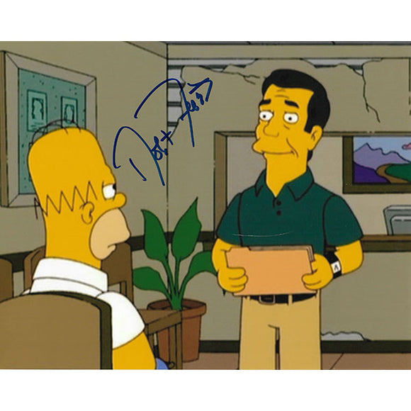 Robert Forster (deceased) Autographed 'The Simpsons' 8X10 Photo
