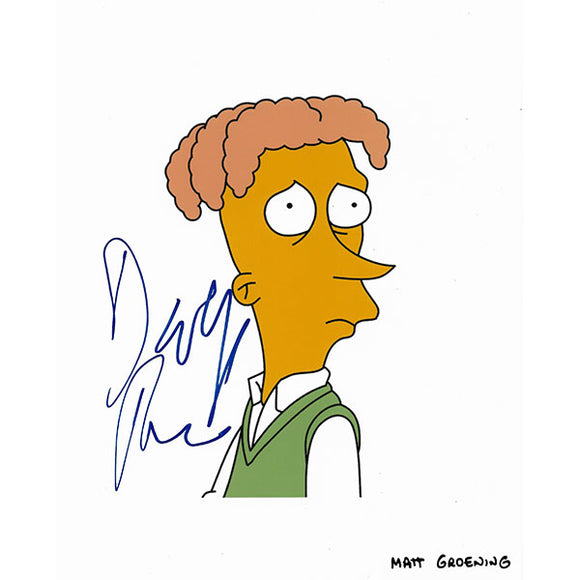 David Hyde Pierce Autographed 'The Simpsons' 8X10 Photo