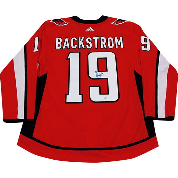 Nicklas Backstrom Autographed Washington Capitals Pro Jersey