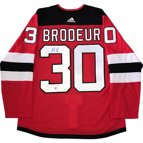 Martin Brodeur Autographed New Jersey Devils Pro Jersey