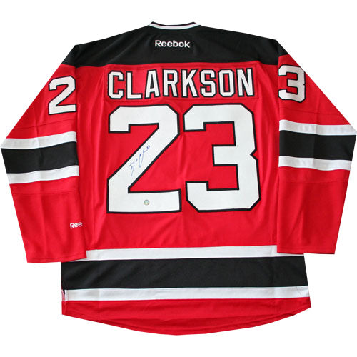 David Clarkson Autographed New Jersey Devils Replica Jersey