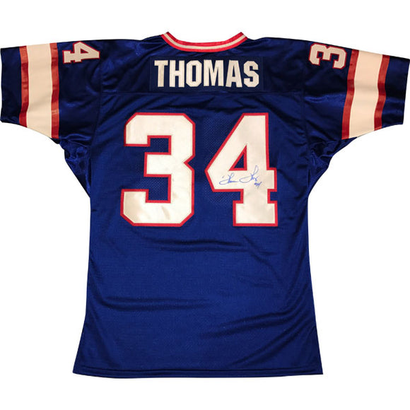 Thurman Thomas Autographed Buffalo Bills Jersey