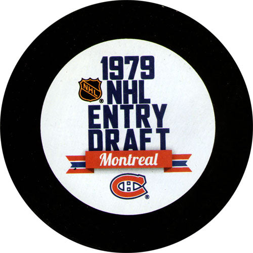 1979 NHL Draft Puck