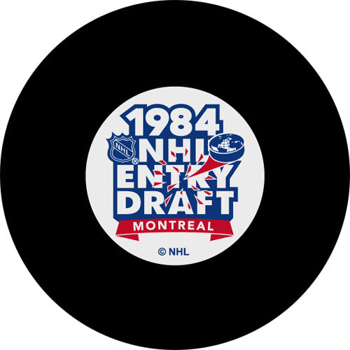 1984 NHL Draft Puck