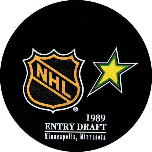1989 NHL Draft Puck