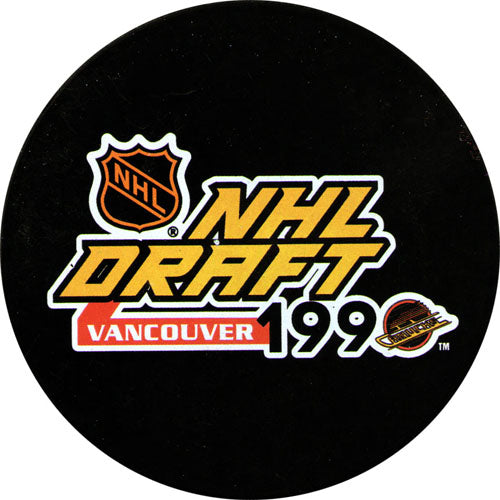 1990 NHL Draft Puck
