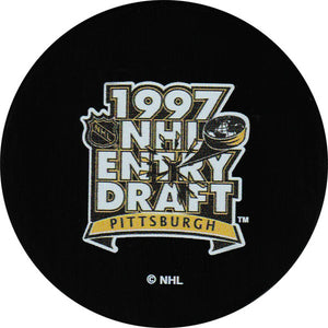 1997 NHL Draft Puck