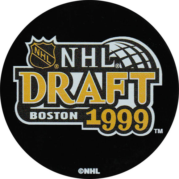 1999 NHL Draft Puck