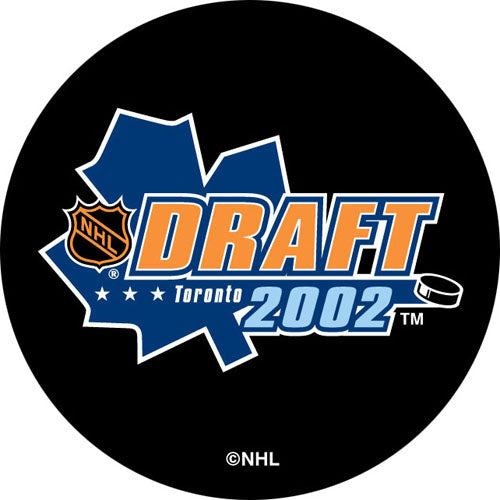 2002 NHL Draft Puck