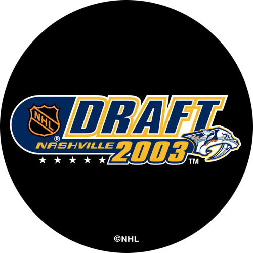 2003 NHL Draft Puck