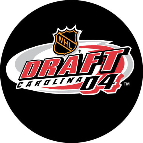 2004 NHL Draft Puck