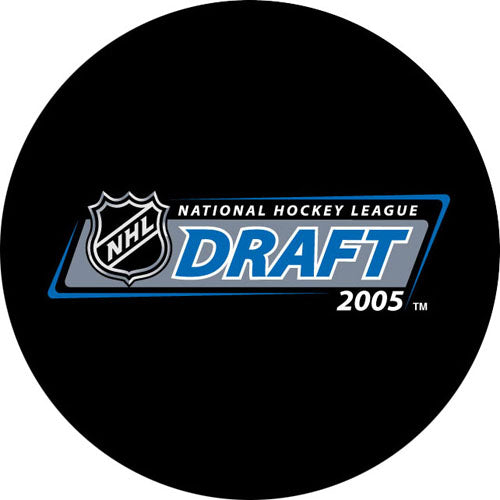 2005 NHL Draft Puck