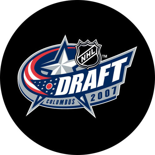 2007 NHL Draft Puck