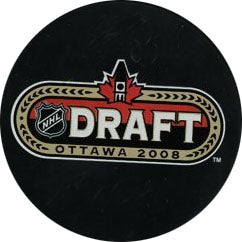 2008 NHL Draft Puck