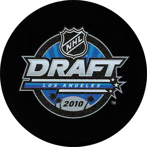 2010 NHL Draft Puck