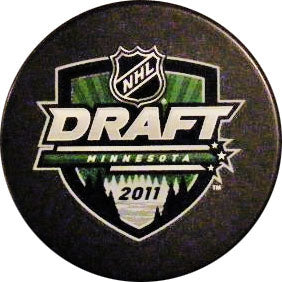 2011 NHL Draft Puck