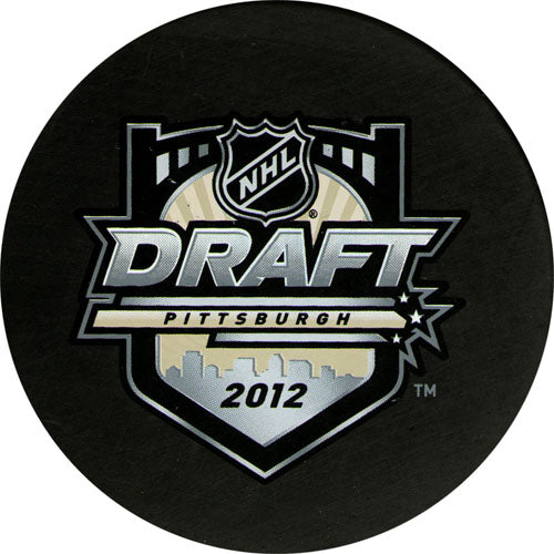 2012 NHL Draft Puck