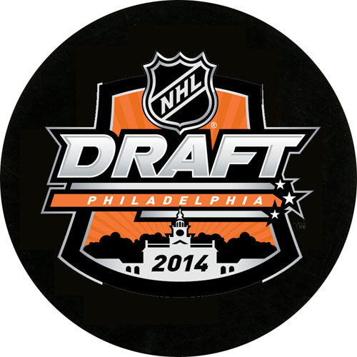 2014 NHL Draft Puck
