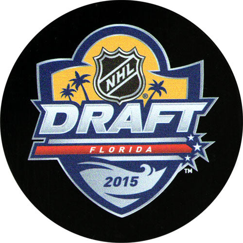 2015 NHL Draft Puck