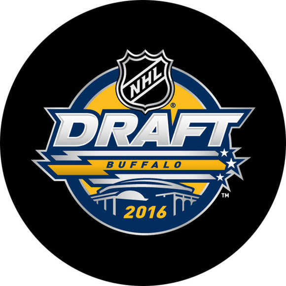 2016 NHL Draft Puck