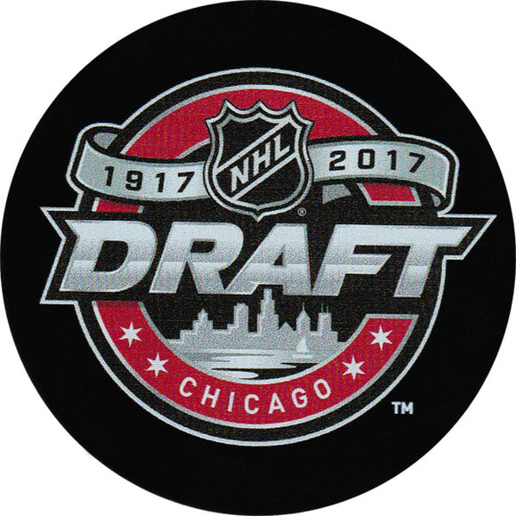 2017 NHL Draft Puck
