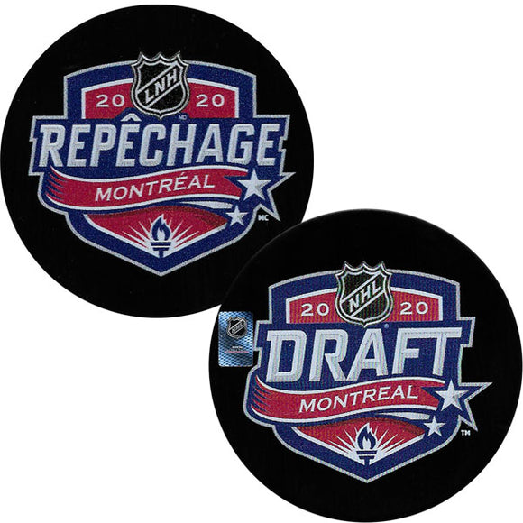 2020 NHL Draft Puck