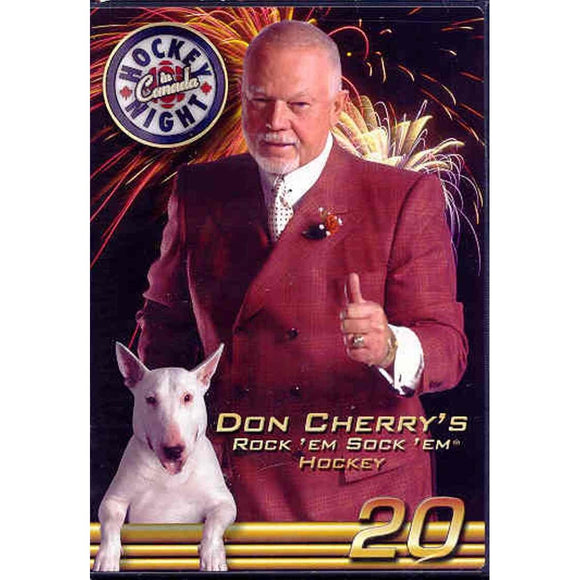 DVD - Don Cherry #20 Rock 'Em Sock 'Em Hockey