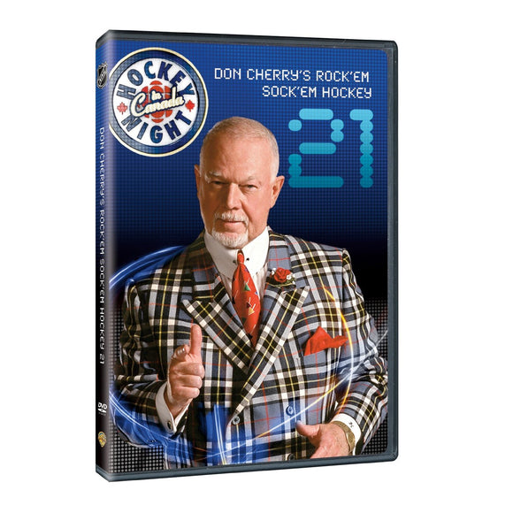 DVD - Don Cherry #21 Rock 'Em Sock 'Em Hockey