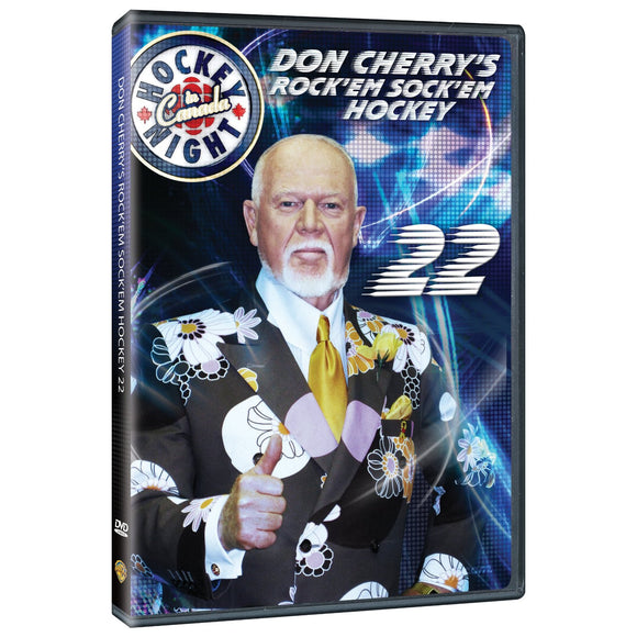 DVD - Don Cherry #22 Rock 'Em Sock 'Em Hockey
