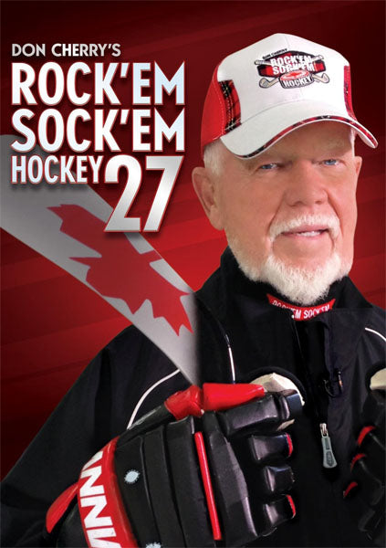DVD - Don Cherry Rock 'em Sock 'em Hockey 27