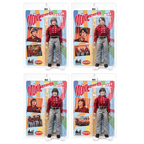 The Monkees Retro Action Figures (Set of 4)