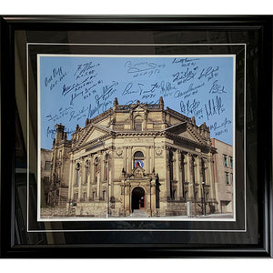 Hockey Hall of Fame Framed Multi-Signed 16X20 Photo (21 Autographs)