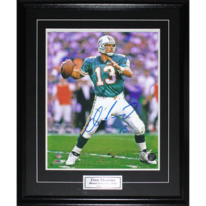 Dan Marino Framed Autographed 16X20 Photo