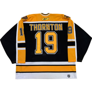 Joe Thornton Autographed Boston Bruins Game-Worn Jersey