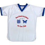 Gordie Howe Autographed RBC We Love Kids Baseball Jersey
