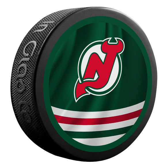 New Jersey Devils Reverse Retro Jersey Puck