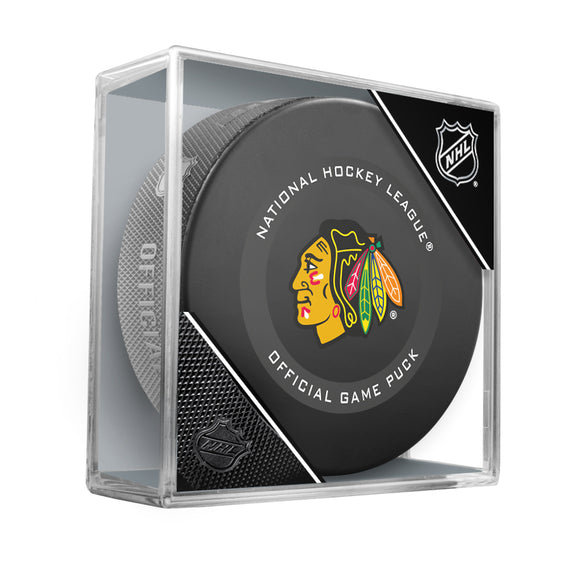 Chicago Blackhawks Official Game Model Puck