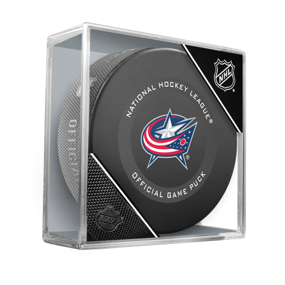 Columbus Blue Jackets Official Game Model Puck