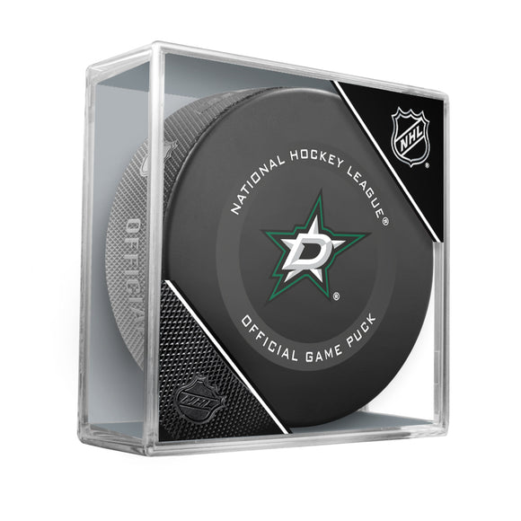 Dallas Stars Official Game Model Puck