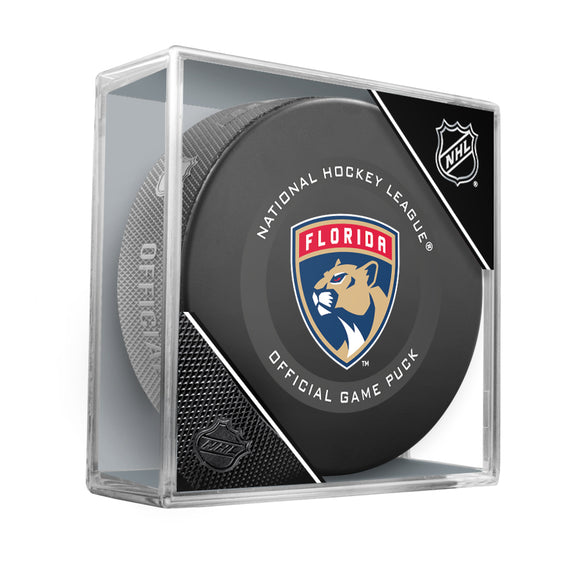 Florida Panthers Official Game Model Puck