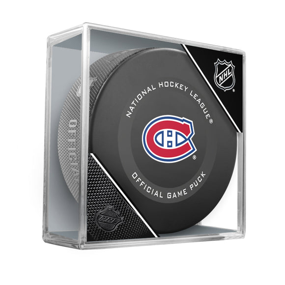 Montreal Canadiens Official Game Model Puck