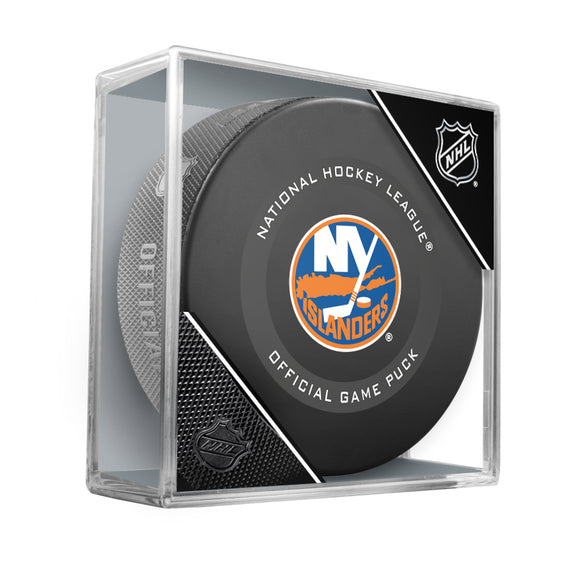 New York Islanders Official Game Model Puck