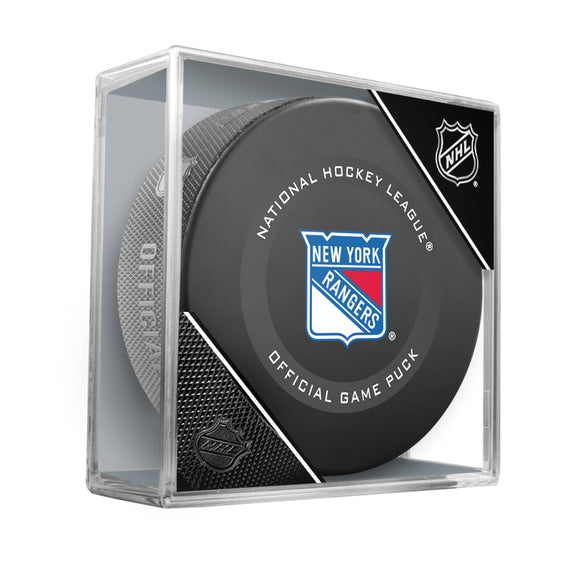 New York Rangers Official Game Model Puck