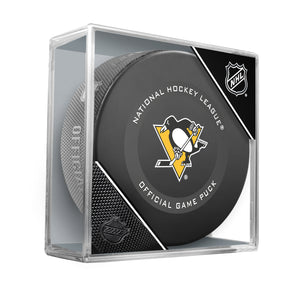 Pittsburgh Penguins Official Game Model Puck