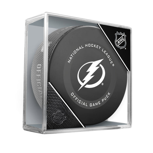 Tampa Bay Lightning Official Game Model Puck