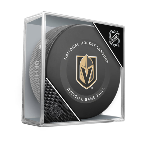 Vegas Golden Knights Official Game Model Puck