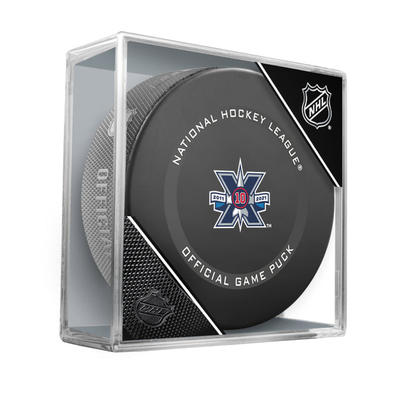 Winnipeg Jets 10th Anniversary Official Game Model Puck