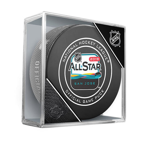 2019 NHL All-Star Game Official Game Puck